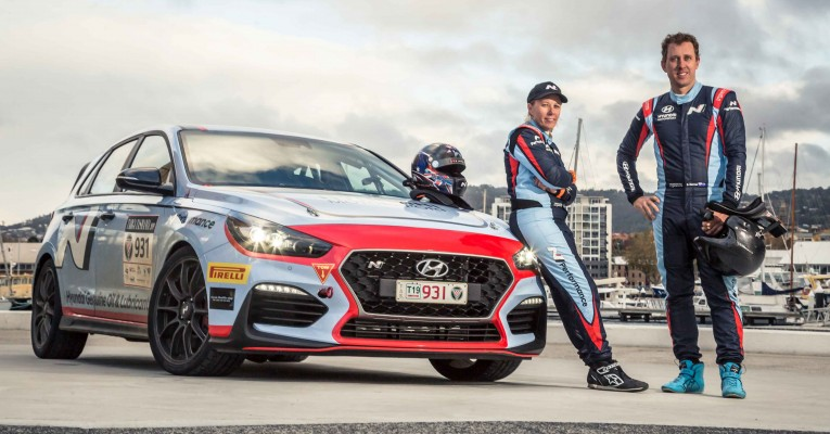 Xtreme Clutch at Targa with Hyundai Australia